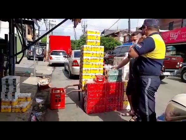 Bodega «callejera» fue intervenida en Luque