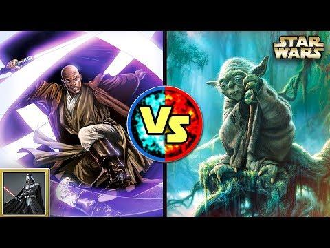 Star Wars Versus: Mace Windu VS. Yoda - Star Wars Basis Versus #27