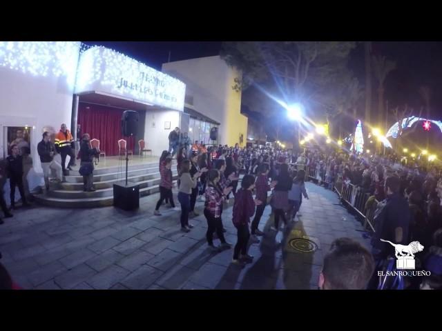 Actuación Soul Fusion en la Cabalgata de Reyes Magos 2017