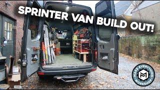 Sprinter Van Build Out! (Super Organized)
