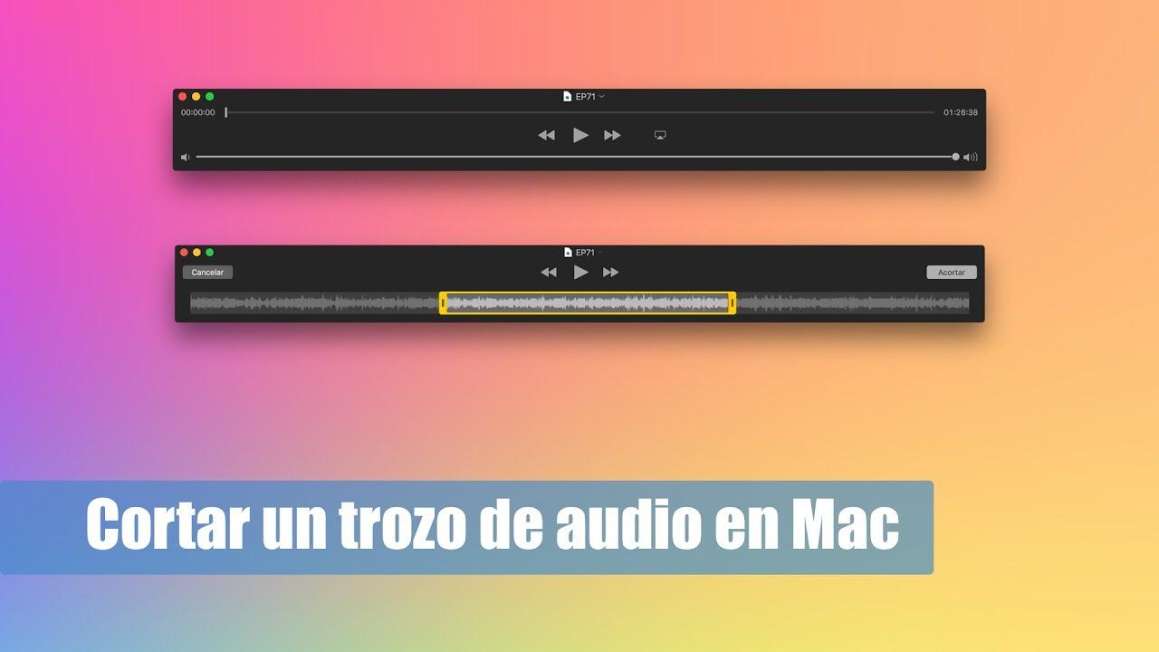 aplicacion para cortar mp3 mac