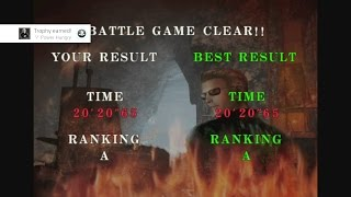 Resident Evil Code: Veronica X - Wesker A/S Rank, Battle Game [PS4 Pro]