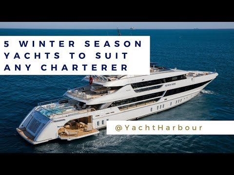 5 winter season yachts to suit any charterer