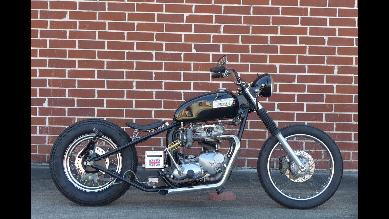 Triumph Bonneville T140 Bobber Kayamotorco