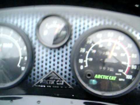 2000 ARCTIC CAT THUNDERCAT 1000 PUSHING LIMITS BONE STOCK 120 MPH