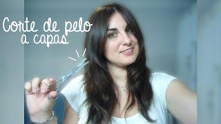 💇 Corte de pelo a capas + Flequillo abierto y desfilado | Aprende a cortarte el pelo tú misma