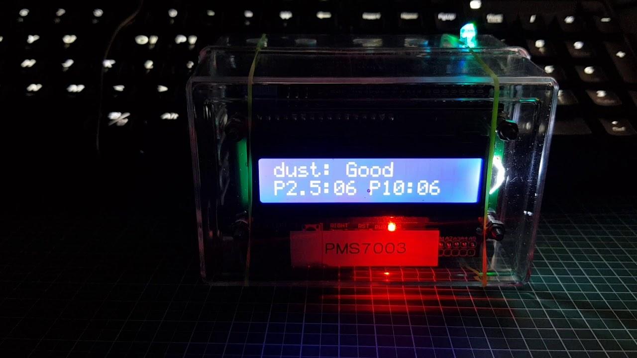 3 3 11  [SENSOR] ♡ Arduino PMS7003