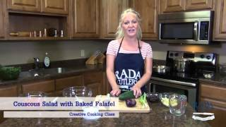 Mediterranean Meal | Rada Cutlery's Creative Cooking Class (complete Mediterranean Meal)