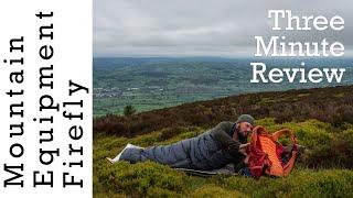 Mountain Equipment Firefly down Sleeping Bag