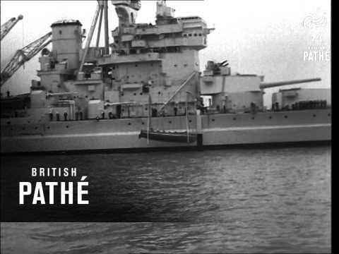 British Home Fleet In Clyde (1947)