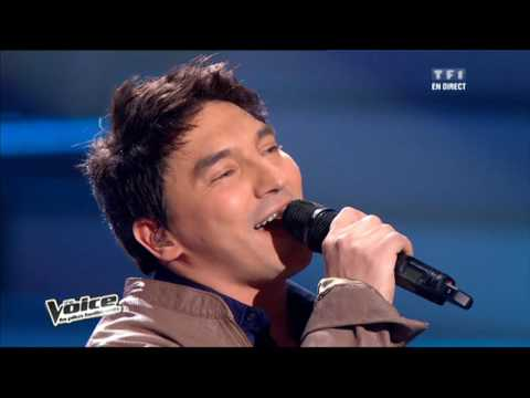 The Voice 2012 | Garou, Atef, Blandine Aggery & Flo Malley  - With or Withour You (U2) | Prime 2