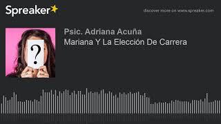 Download Mariana Y La Elección De Carrera