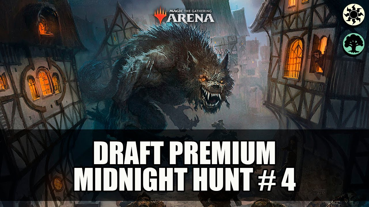 Download MONTAMOS UM DECK INCRÍVEL MAS... - Premium Draft Innistrad : Midnight Hunt # 4- MTG Arena