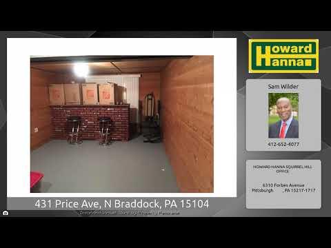 431 Price Ave, N Braddock, PA 15104