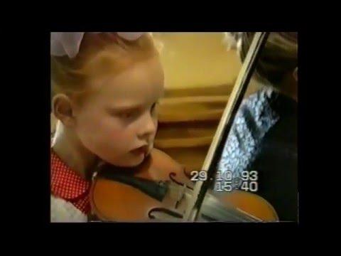 Anna Markova 8 years old