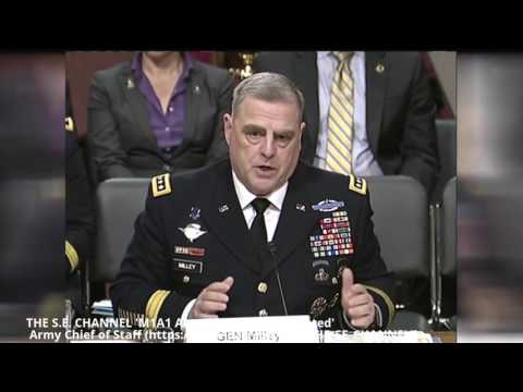 'M1A1 Abrams Tanks is Outdated' Army Chief of Staff