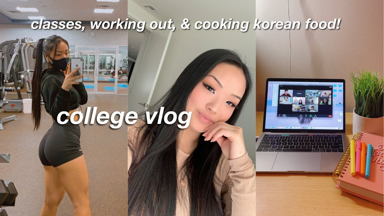 a *PRODUCTIVE* online school day in my life | VLOG