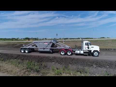 Belly Dump Trailers - Bottom Dump - Construction Trailer ...