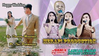 Live Tunda Happy Wedding Danang & Dwi - Merapi Production - Lancar Group Audio Sound System