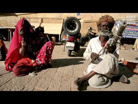 Amazing Indian Ravanhatta Musician in Jaisalmer Rajasthan