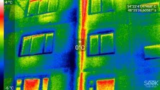 Почему промерзают пластиковые окна и стены в квартире Проверка квартиры на утечку тепла тепловизором(, 2018-02-03T13:46:12.000Z)
