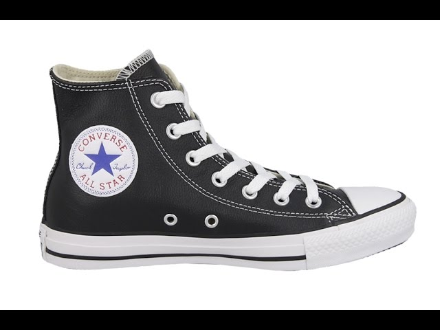 Converse Chuck Taylor All Star Leather Hi black (132170