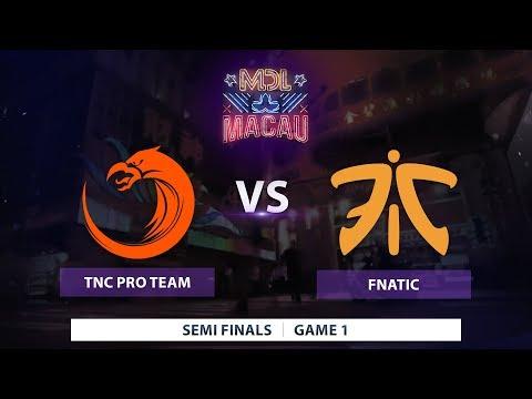 TNC Pro Team vs Fnatic | Game 1 | Mars Dota 2 League Sea Qualifier