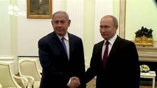 PM Netanyahu meets Russian President Vladimir Putin