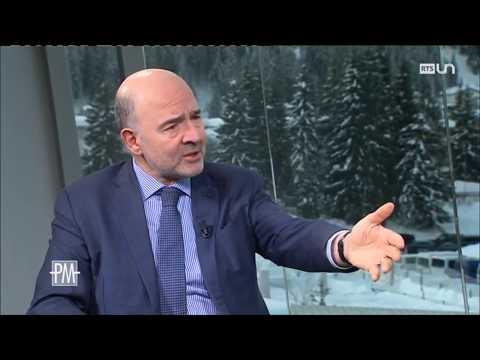 L'interview de Johann Schneider-Ammann, Pierre Moscovici, la Suisse et l'Europe