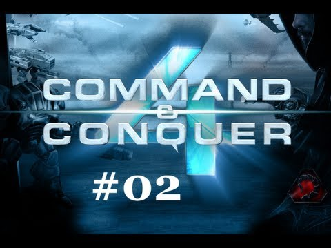 Let`s Play Command and Conquer 4 Tiberian Twilight #002 - 2. Mission + Juhu ein Mammutpanzer