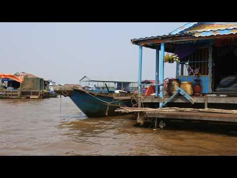 カンボジア・トンレサップ湖クルーズ -Lake Tonlé Sap Cambodia-
