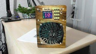 Прикупил Radio WiFi для кухни и для Дачи! Интернет-радиоприёмник ИР-1