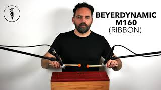 Percussion mics comparison: Beyerdynamic M130 vs M160 vs MC840 (tongue drum, woodpack drum)