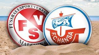 Interviews nach dem Testspiel gegen den FSV Malchin