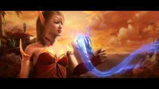 world of warcraft - the burning crusade movie trailer - Free online games