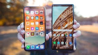 iPhone XS Max vs Galaxy Note 9 !