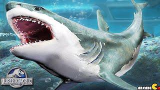 Monster Sharks MEGALODON AQUATIC ARENA - Jurassic World The Game
