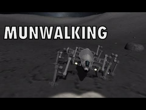 Munwalking II - Improved Robotic Rover