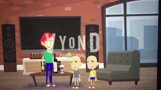Classic caillou gets grounded on New Year& 39 s Day
