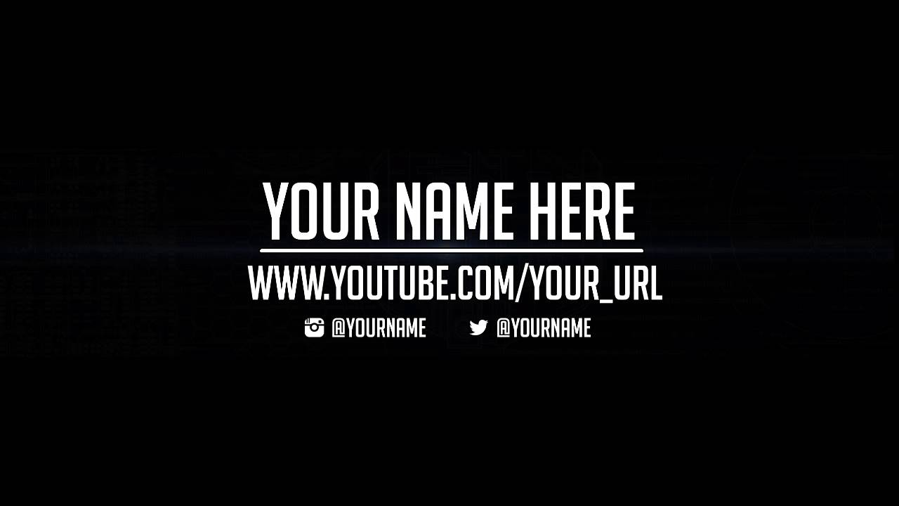 youtube channel art