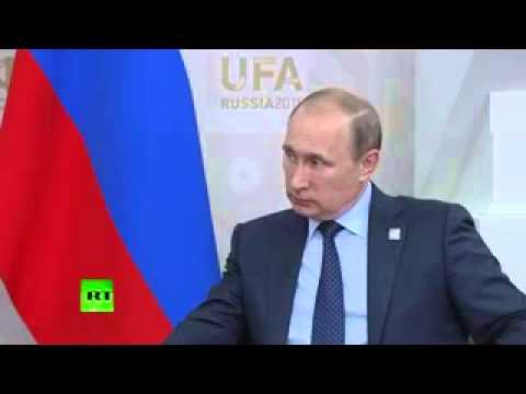 Ashraf Ghani Putin SCO UFA