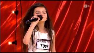 "Angelina Jordan- Amazing Seven Year Old Sings ""Gloomy Sunday"" By Billie Holiday"