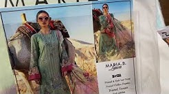 Maria B Lawn Full Embroidered