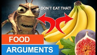 Figs- the Bible is clear that you can eat them Locusts- insects tha...