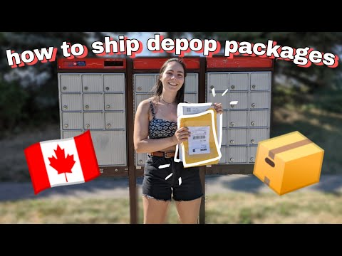 How To Ship Depop Packages in Canada | Everything You Need To Know!
