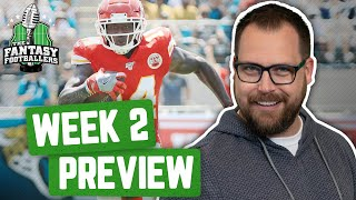 Fantasy Football 2019 - Week 2 Buy or Sell + Value of the Lizard King, TNF Breakdown - Ep. #772