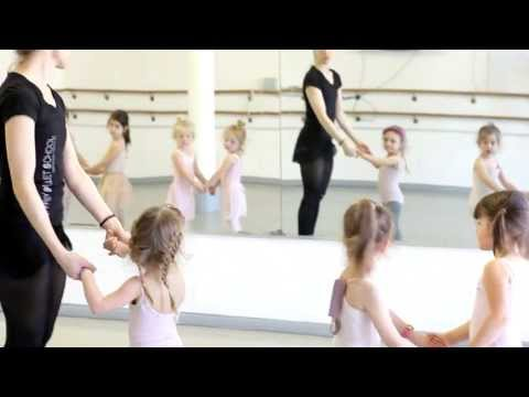 Baby Ballerina's Class - Children's Program at the Joffrey Ballet School in NYC