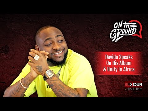 Davido Speaks To Slikour About His Album A Good Time Unity In
