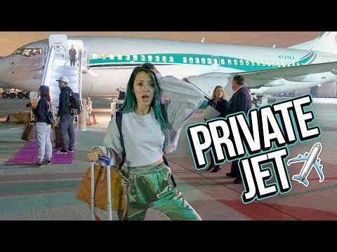 Flying on a Private Jet to Bora Bora!