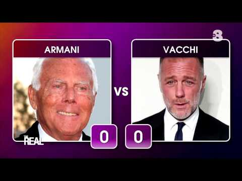 Home Battle: Giorgio Armani vs Gianluca Vacchi | The Real Italia